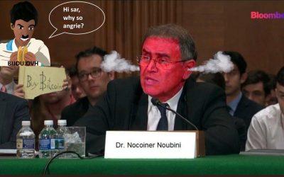 Noureil Roobini is lost it