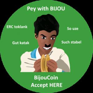 Sticker BijouCoin Partner