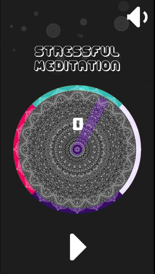 Stressful Meditation